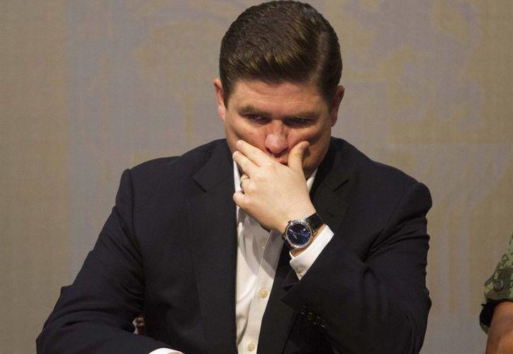 Rodrigo Median sufrió el embargo de una propiedad, lo anterior dentro de las investigaciones formales que se siguen en relación con los delitos que se les acusa al ex mandatario estatal y ex integrantes de su gabinete. (Imagen tomada de dominio.fm)