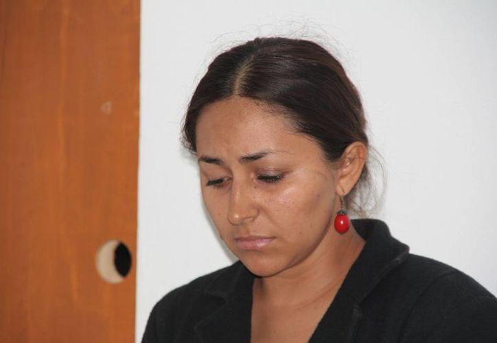 Yuridia Herrera fue detenida por su presunta complicidad con los asaltantes. (Gustavo Villegas/SIPSE)