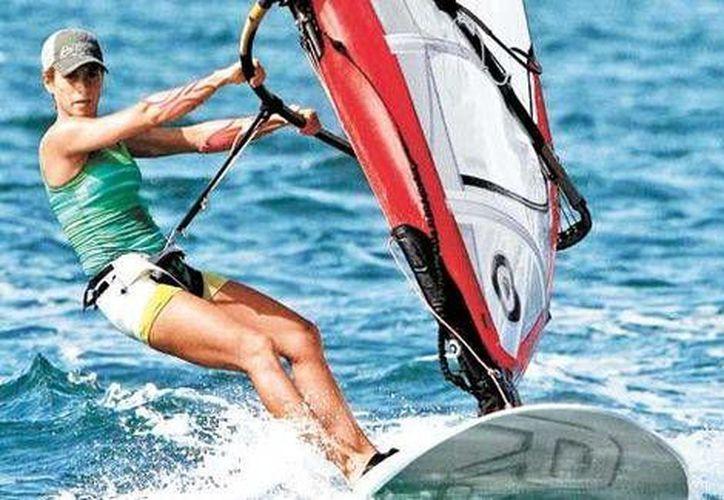 La velerista Demita Vega representará a nuestro país en las Olimpiadas de Río de Janeiro. (Contexto/Internet)