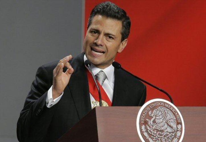 Peña Nieto recibió en el Castillo de Chapultepec a invitados de todo el mundo. (Agencias)