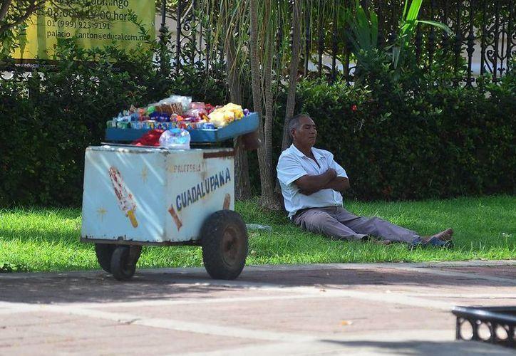 Las temperaturas calurosas se mantendrán hoy en Mérida. (Luis Pérez/SIPSE)
