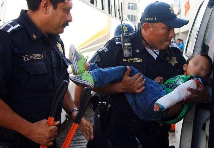Actualmente los policías municipales tienen turnos de 24 horas. (Milenio Novedades)