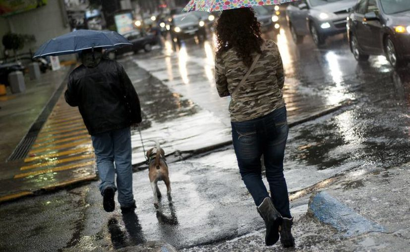 Los fenómenos meteorológicos continuarán provocando lluvias en gran parte del país. (Notimex)