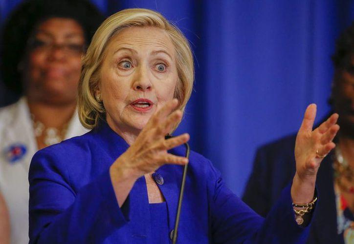 Diversas voces políticas criticaron el rechazo que Hillary Clinton expresó contra el Acuerdo de Asociación Transpacífico. (EFE)