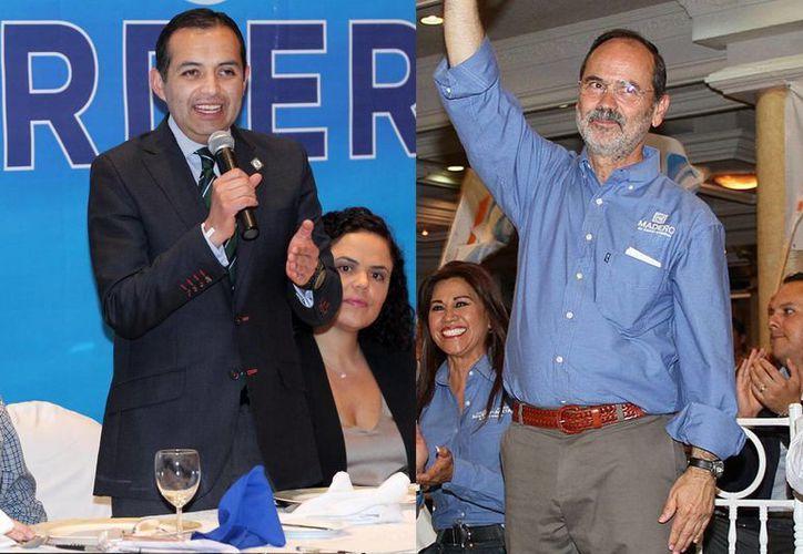 Falta definir los temas que abordarán Cordero y Madero durante el debate. (Notimex)