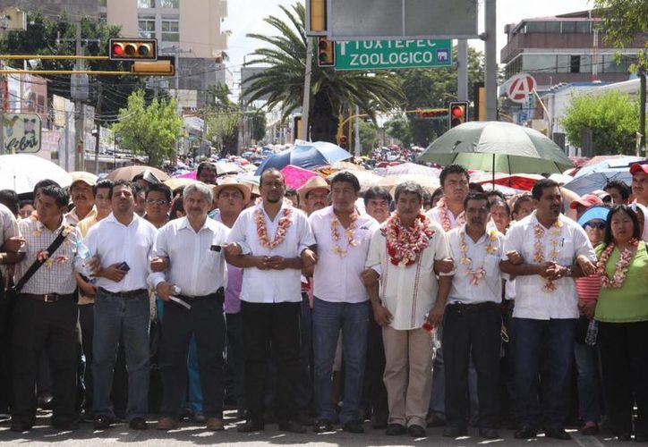 El Gobernador oaxaqueño quiere que la SEP instale una mesa para atender demandas de la CNTE. (Notimex)