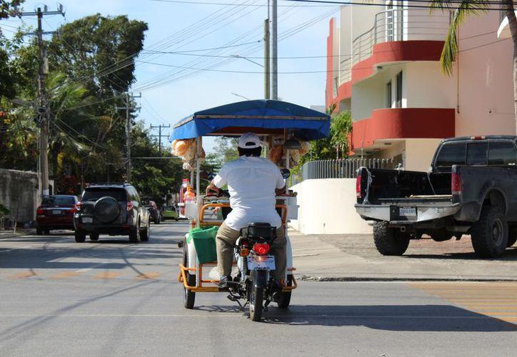 Detectan a vendedores en varios puntos de la ciudad. (Adrián Barreto/SIPSE)