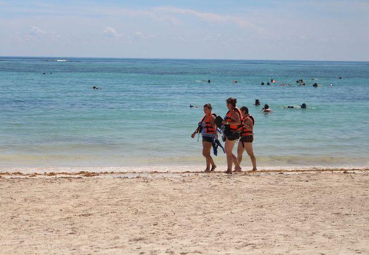 Cancún y Riviera Maya son los destinos atractivos para los rusos. (Adrián Barreto/SIPSE)