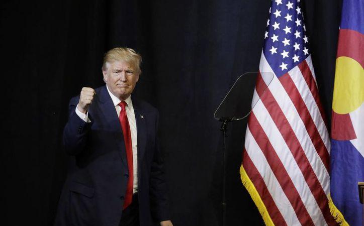 El equipo de campaña de Donald Trump respondió que la fundación tiene la intención de cooperar con la investigación. (AP/John Locher)