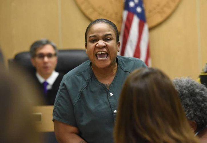 Mitchelle Blair aceptó sin remordimientos las acusaciones de asesinar y congelar a sus dos hijos. (AP)