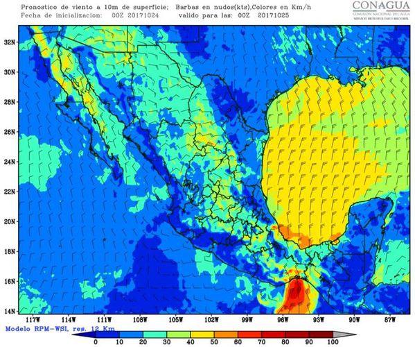 Pronóstico de bajas temperaturas para la mañana del viernes