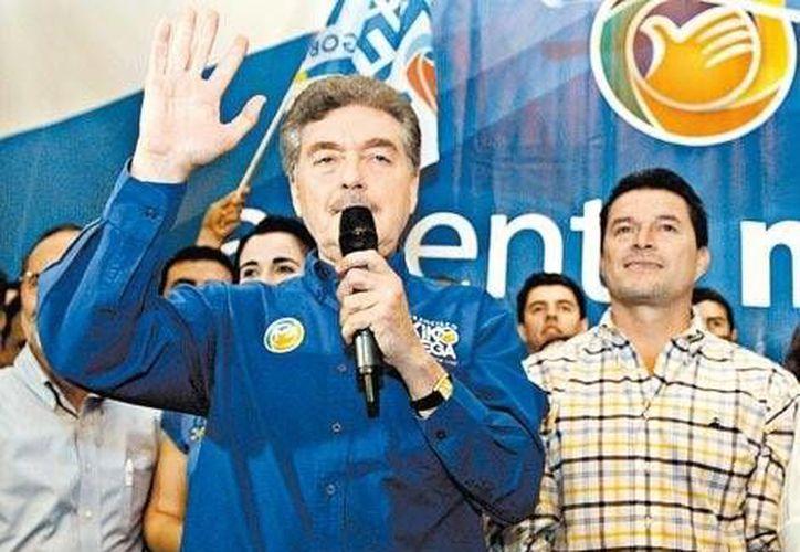 Kiko Vega fue postulado por la coalición Unidos por Baja California. (Mónica González/MILENIO)
