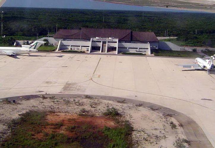 Pretenden que el aeropuerto Chichén Itzá ofrezca servicios turísticos en un futuro. (Milenio Novedades)