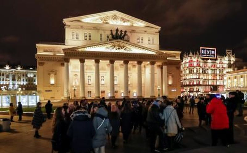 #AlertaADN Por amenaza de bomba desalojan Teatro Bolshói en Moscú