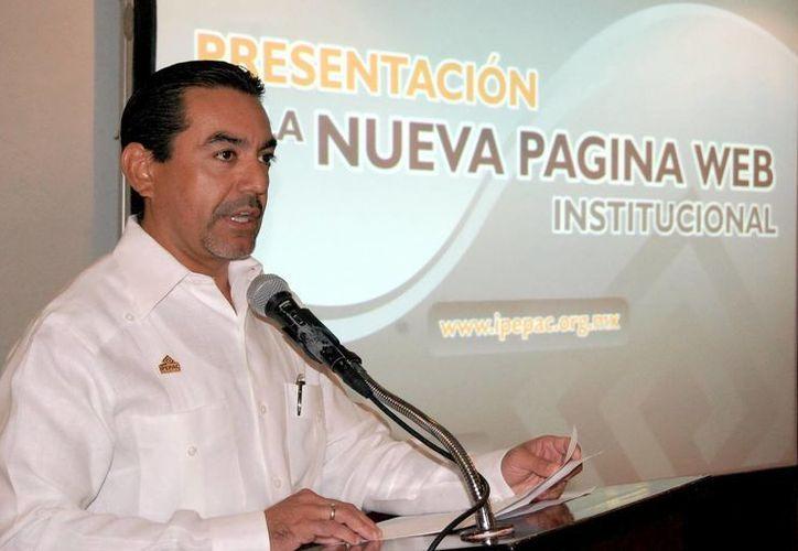 Carlos Fernando Pavón Durán, consejero del Ipepac. (Milenio Novedades)