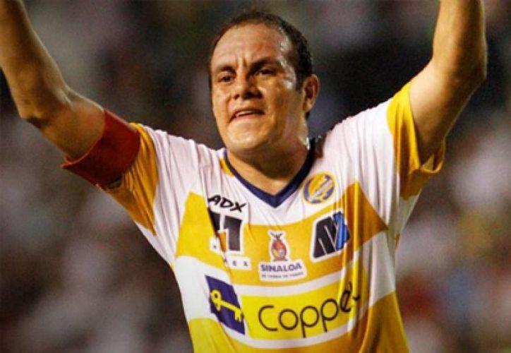 Cuauhtémoc Blanco, la figura de los Dorados de Sinaloa. (Milenio Novedades)