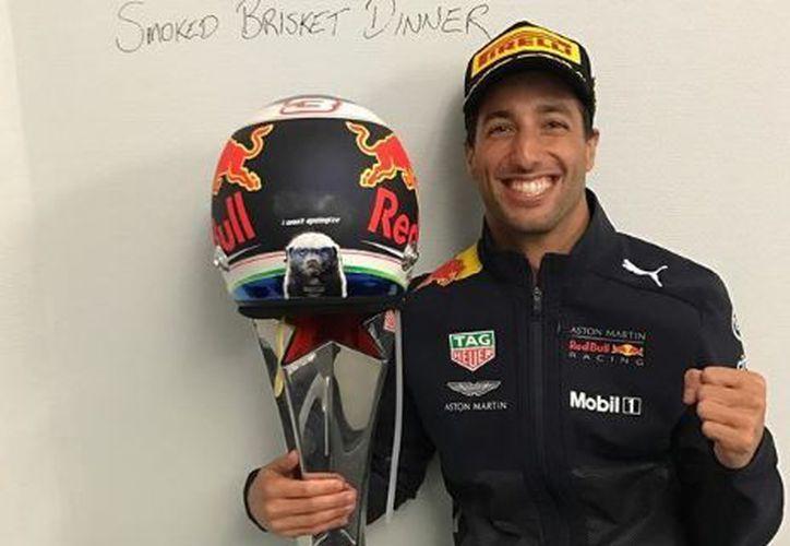 """Ricciardo consiguió siete victorias, 29 podios obtenidos, dos """"pole positions"""" y 904 puntos de campeonato. (Instagram)"""