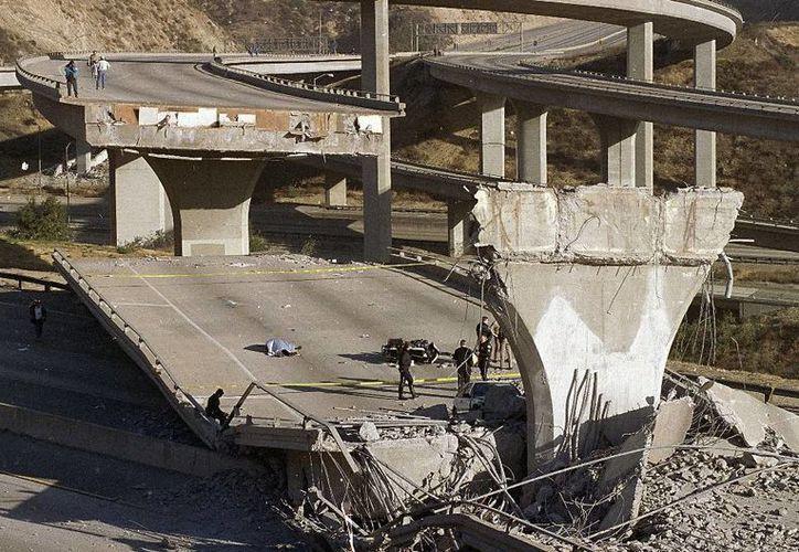 Se calcula que las pérdidas potenciales por sismos en regiones de Estados Unidos podrían ascender a más de cuatro mil millones de dólares. (AP)