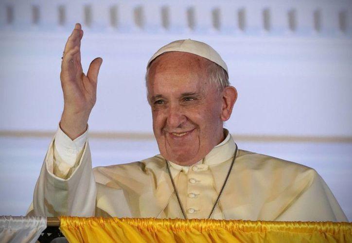 Imagen del Papa Francisco, quien próximamente visitará Cuba y Estados Unidos. (Archivo/Notimex)