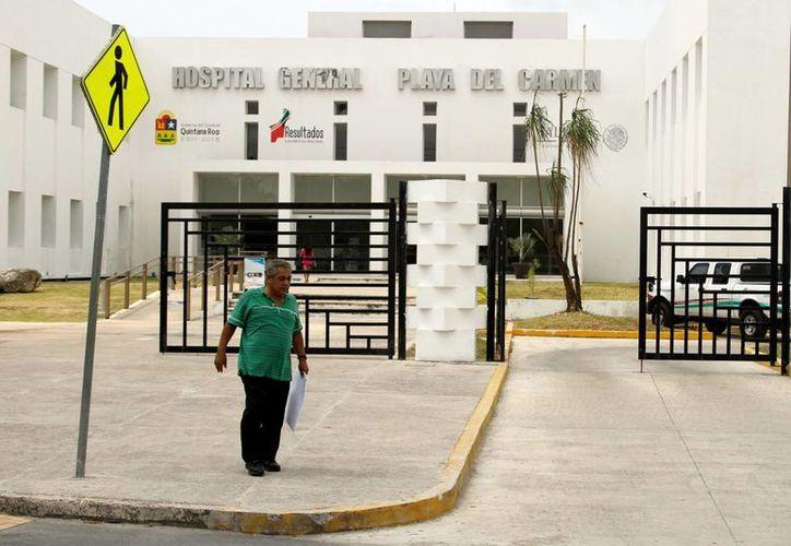 En el Hospital General de Playa del Carmen invertirán 297 mil pesos. (Tomás Álvarez/SIPSE)