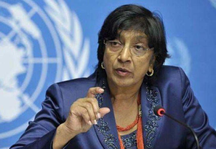 Navi Pillay, comisionada de las Naciones Unidas para los Derechos Humanos, condenó enérgicamente ejecución de jóvenes en Arabia Saudita. (Agencias)