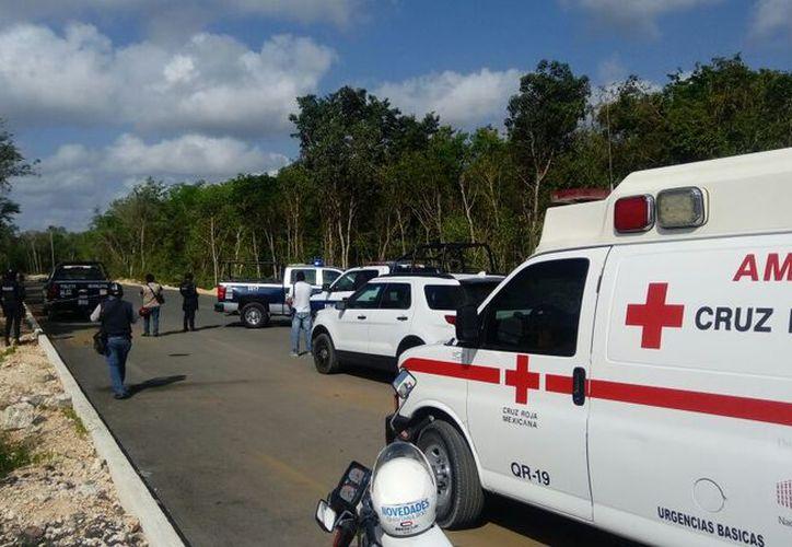 El cuerpo de la mujer fue encontrado con dos impactos de bala, a la orilla de una calle pavimentada. (Redacción/SIPSE)