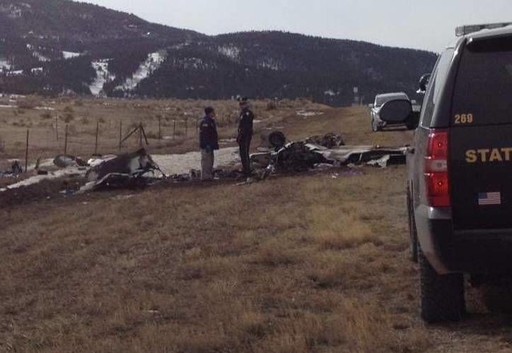 Hace apenas dos días en Nuevo México una aeronave se desplomó. (archivo/Agencias)