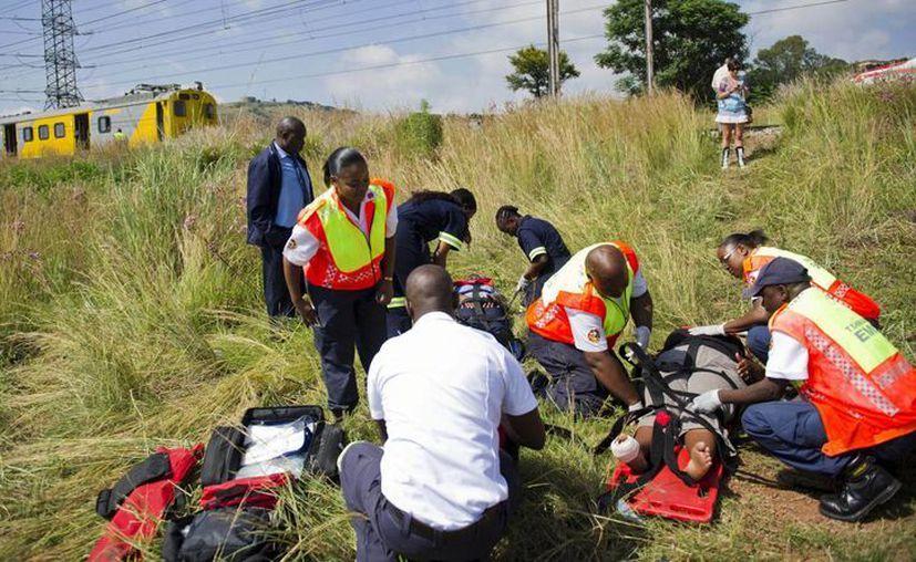 El accidente ocurrió en horas 'pico' . (Agencias)