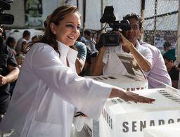 Claudia Ruiz Massieu rechaza violencia electoral en Guerrero
