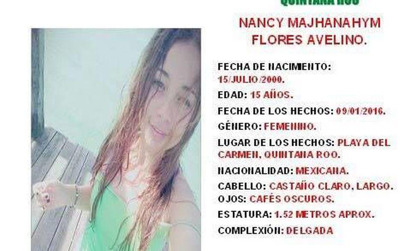 Nancy fue vista por última vez en su casa el pasado 9 de enero. (Twitter/Alerta Amber QR)