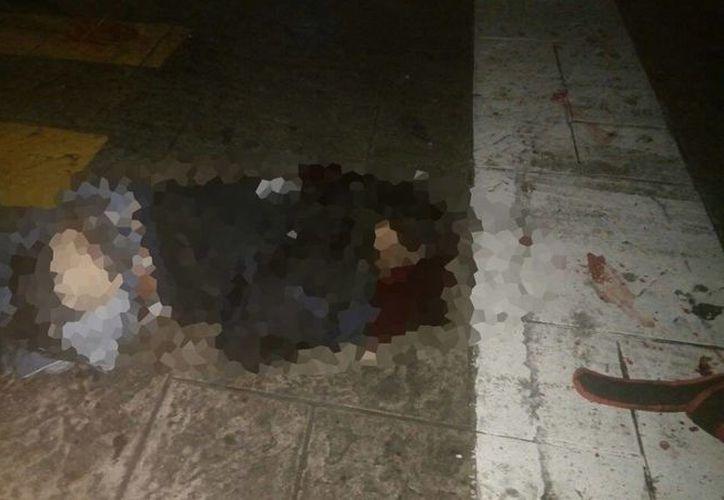 Un peatón falleció trágicamente al ser arrollado por un autobús de la ruta Polígono 108.  (Foto: SIPSE)