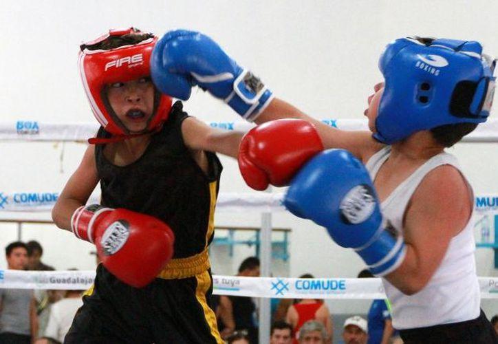 Los niños acuden a clases de boxeo en el Pony's Boxing Club. (Notimex)