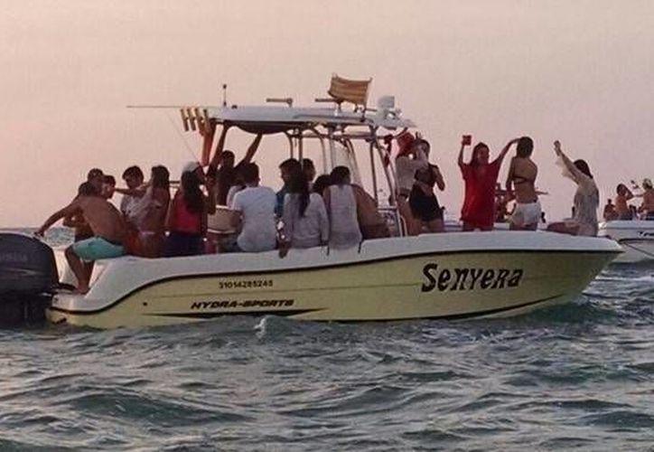 Embarcaciones con exceso de pasajeros o de alcohol en costas de Progreso serán sancionadas. (SIPSE)