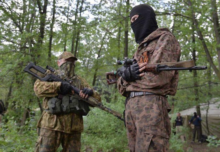 En Ucrania la situación se pone cada vez más tensa. (EFE)