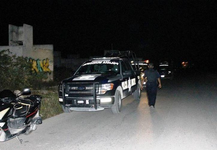 La Dirección de Seguridad afirma que se realiza vigilancia en todo el municipio, incluso en colonias irregulares. (Daniel Pacheco/SIPSE)