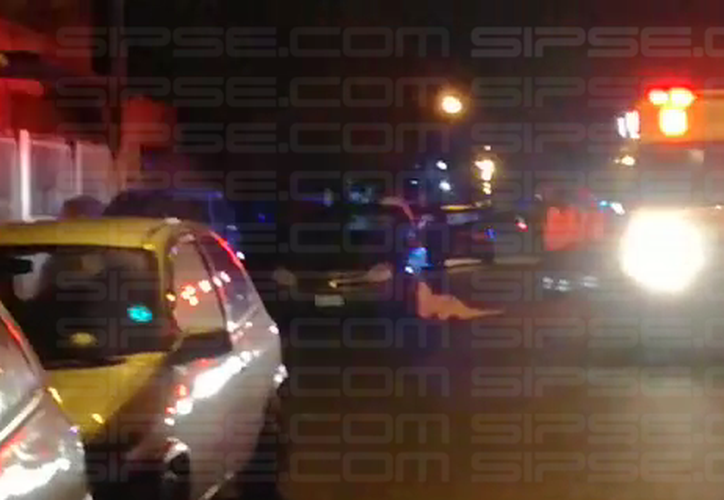 Reportaron que apuñalaron a un sujeto por resistirse a un asalto en la avenida CTM. (Captura de video).