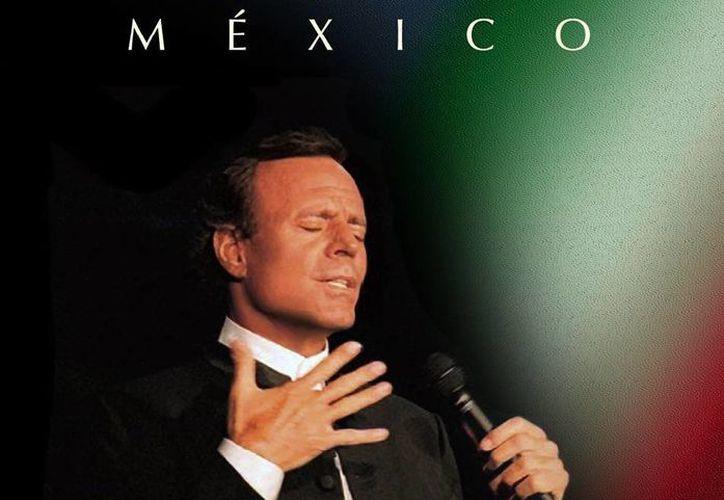El cantante español, Julio Iglesias, lanzará este 25 de septiembre su nueva producción discográfica titulada 'México', trabajo que busca rendir tributo a distintos compositores de la música nacional. (Facebook: julioiglesias)