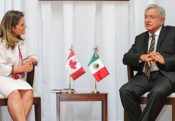 Por falta de tiempo no se abordaron a fondo los temas de infraestructura que propuso López Obrador. (Milenio)
