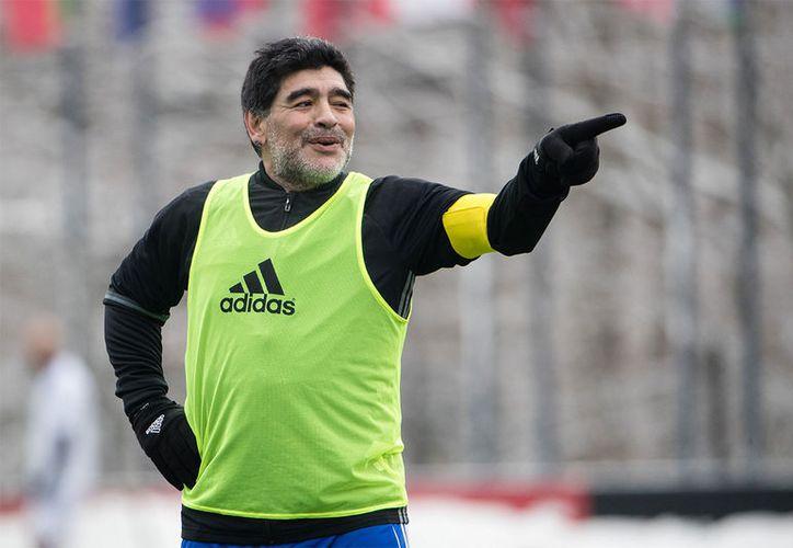 Diego Armando también atacó a Jorge Sampaoli, técnico de la Selección Argentina. (Foto: Sportyou)