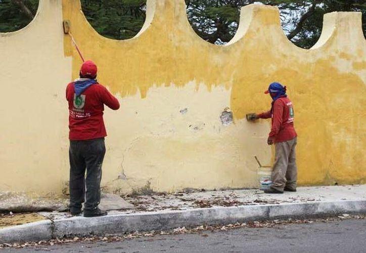 """Los trabajos de limpieza y remozamiento del """"Salvador Alvarado"""" incluyen todas las áreas. (SIPSE)"""