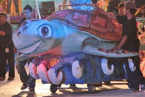 Reyes del Carnaval realizan show espectacular