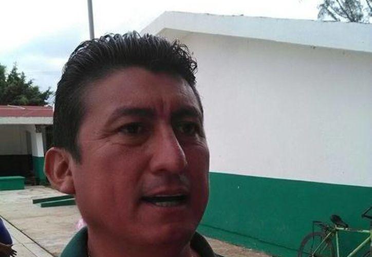 José Alfredo Contreras Méndez aceptó una pequeña entrevista. (Javier Ortiz/SIPSE)