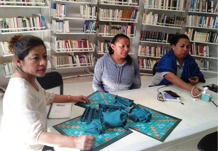 Explicaron que habrá juegos de ajedrez, damas inglesas, entre otras actividades. (Octavio Martínez/SIPSE)