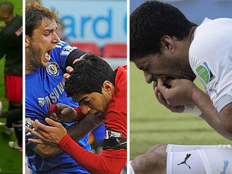Luis Suárez tiene mala fama de marcar a sus adversarios. (Internet)