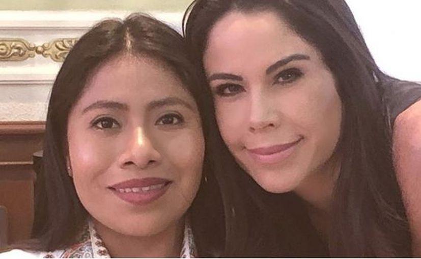 Aunque más tarde Paola compartió una foto junto a la actriz, la polémica no se hizo esperar. ( @paolarojas)