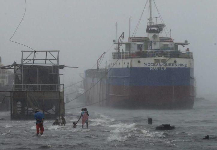 La agencia meteorológica japonesa mantiene la alerta roja por las fuertes lluvias. (EFE)