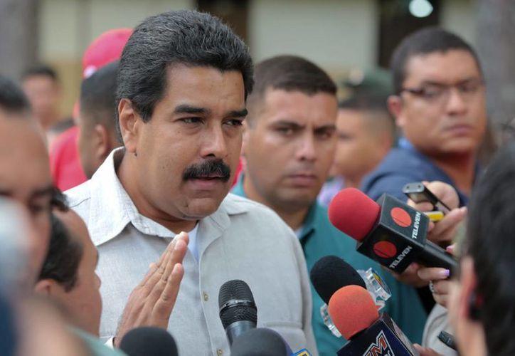 'Es una ofensiva imperial', aseguró el sucesor de Chávez. (EFE)