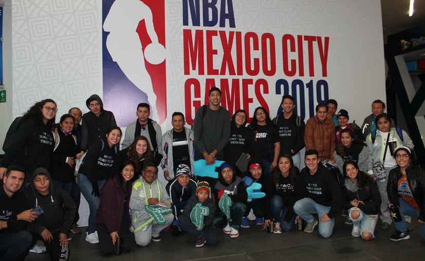 Los jugadores de la liga especial disfrutaron el momento. (Novedades Yucatán)