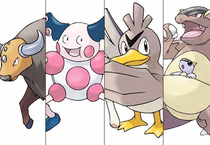 Estos son algunos de los pokémon más deseados: Tauros, Mr. Mime, Farfetch y Kangaskhan. (Nintendo)
