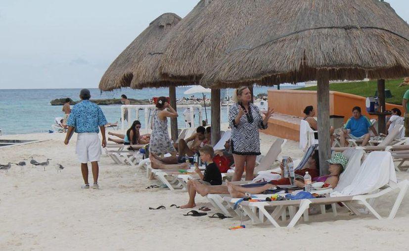 Los turistas han reservado la última semana del año. (Israel Leal/SIPSE)